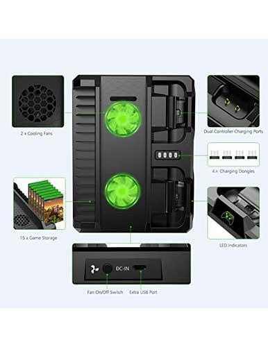 خرید استند شارژ LED ایکس باکس OIVO مدل 0022