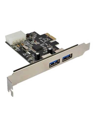 هاب USB 3.0 دو پورت PCI-E مدل PRO-20