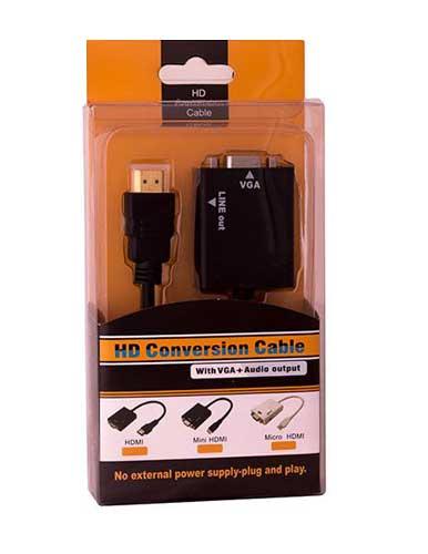 مبدل HDMI به VGA مدل PRK 55