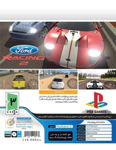 بازی Ford Racing کنسول PS2