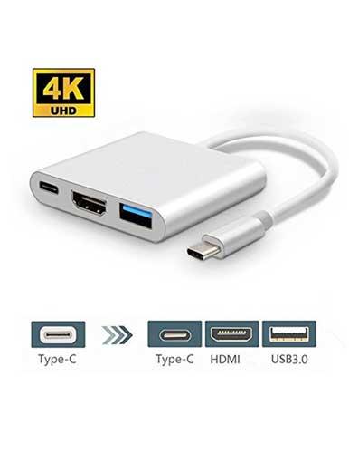 مبدل USB C به USB-C/HDMI/USB مدل S1304