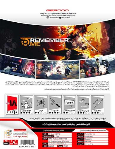 بازی کامپیوتری Remember Me