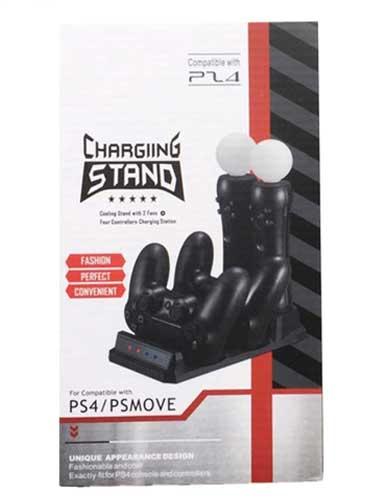 پایه شارژر دسته بازی و MOVE PS4 مدل KJHPS4PRO