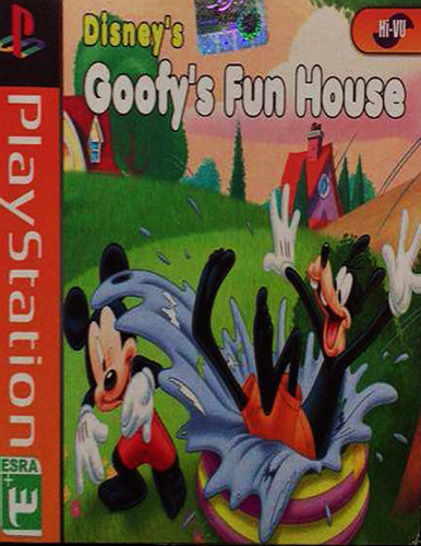 بازی Goofys Fun House مخصوص ps1