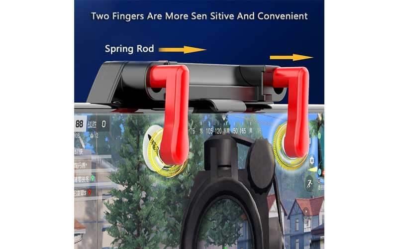 دسته بازی PUBG مدل M20 مخصوص گوشی موبایل iPhone و Android