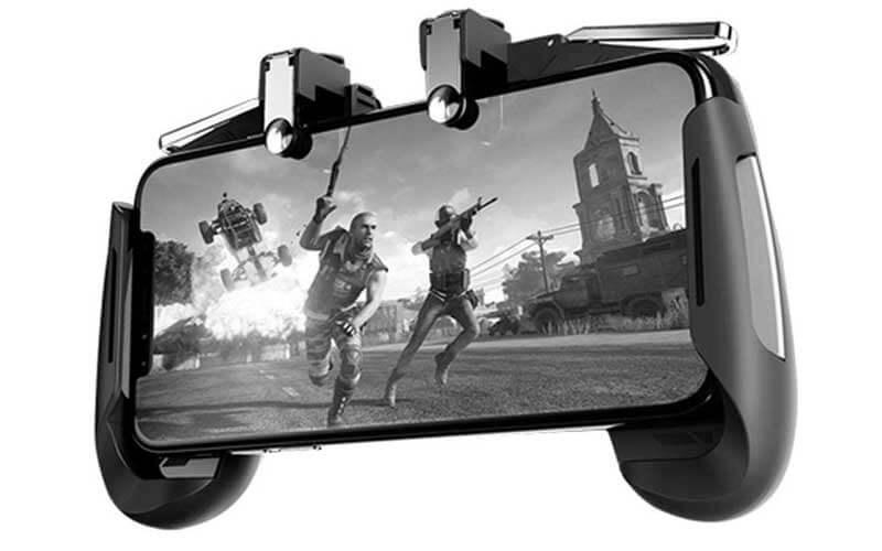 دسته بازی PUBG مدل AK 16 مخصوص گوشی موبایل iPhone و Android