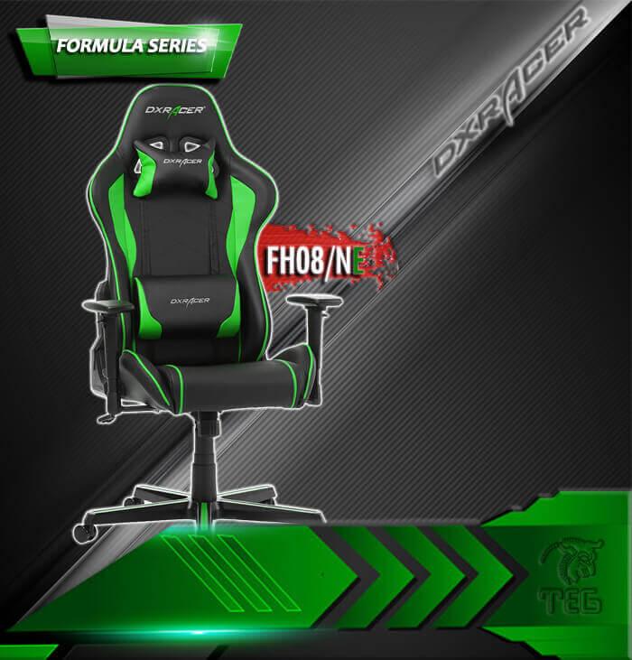 صندلی گیمینگ DXRACER سری فرمولا مدل FH08 NE