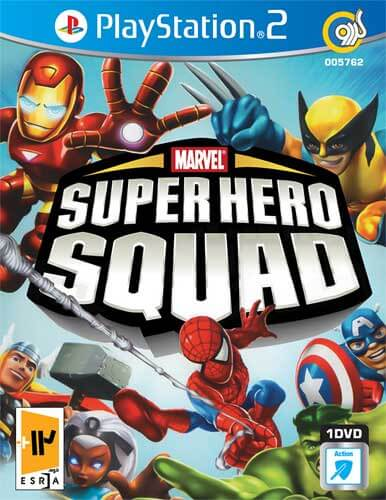 بازی Marvel Super Hero Squad ویژه کنسول PS2