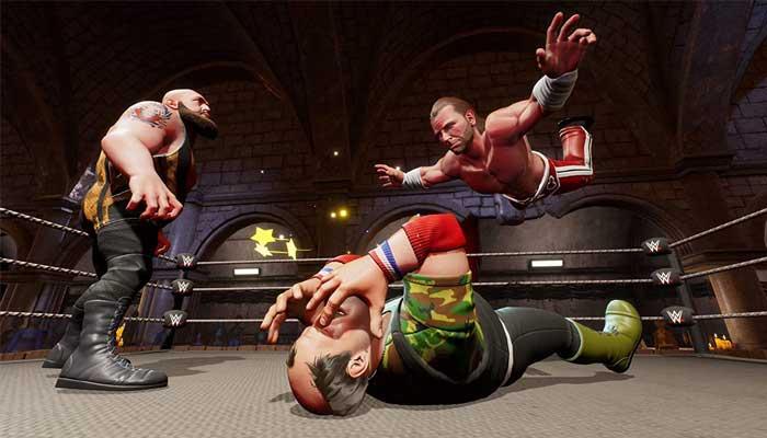 بازی WWE 2K Battlegrounds کنسول PS4