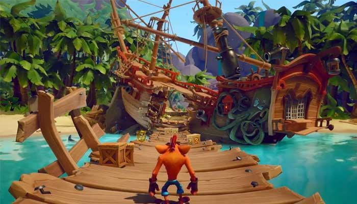 خرید بازی کامپیوتری Crash Bandicoot 4