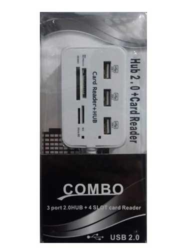 هاب 3 پورت USB 2 کومبو مدل HY-619