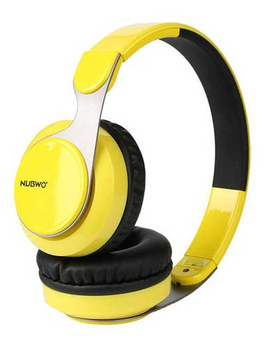 هدفون بی سیم Nubwo S8 رنگ زرد