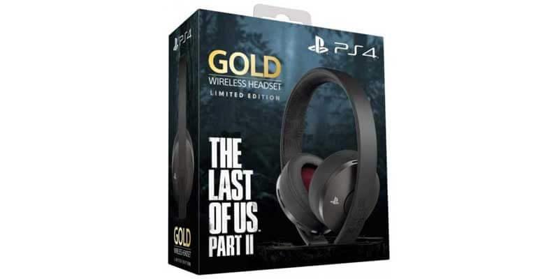 هدست گلد پلی استیشن طرح ویژه The Last of Us Part II Limited Edition