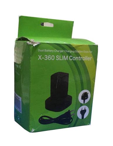 باتری و شارژر دسته بازی ایکس باکس 360 اسلیم (استوک)
