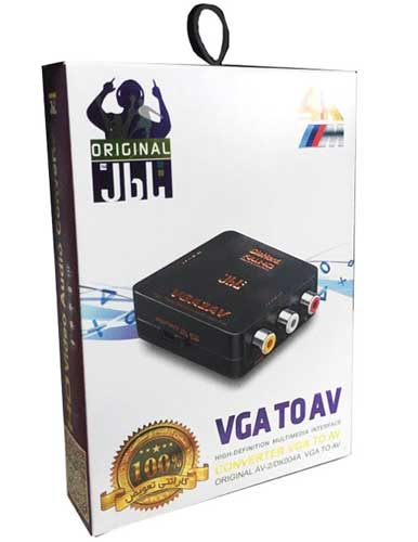 مبدل VGA به AV مدل JB01 برند JBL