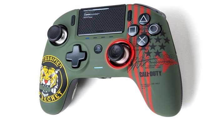 دسته بازی Nacon Revolution Unlimited Pro طرح Call of Duty ویژه کنسول PS4