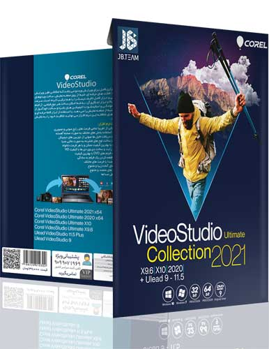 نرم افزار Corel Video Studio Collection 2021 نشر JB team
