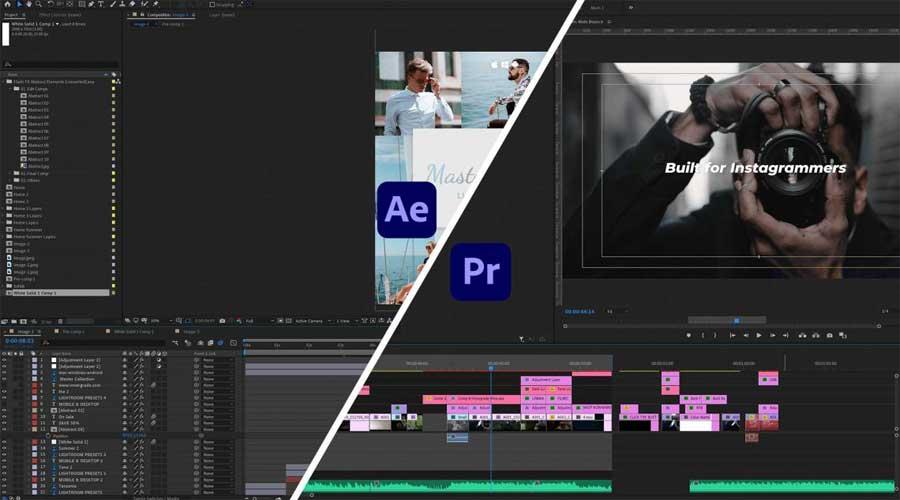 مجموعه نرم افزار پریمیر Adobe Premiere Collection 2021