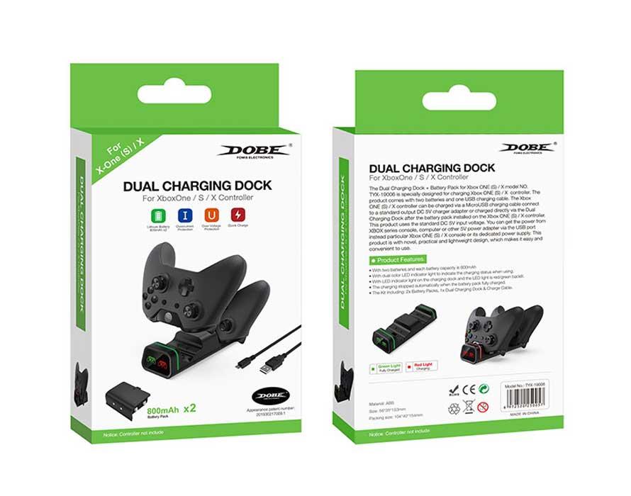 خرید استند شارژر دسته بازی Dobe XBOX One X/S مدل TYX-19006