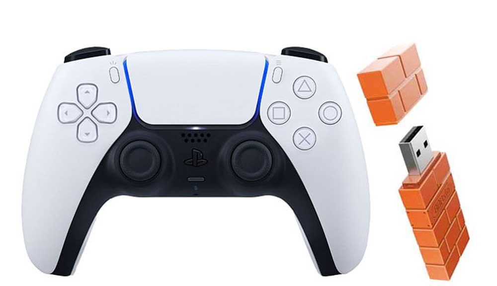 کنترلر PS5 سونی مدل P5 8BI همراه با دانگل