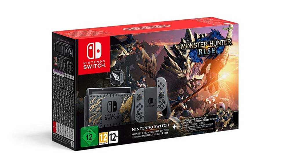 خرید نینتندو سوییچ باندل بازی Monster Hunter Rise