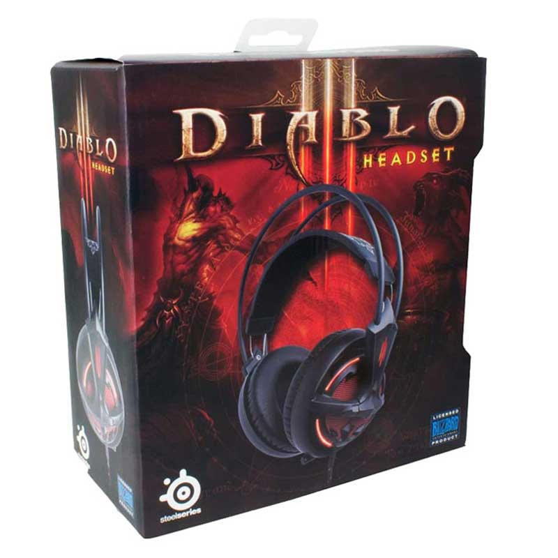 هدست گیمینگ SteelSeries مدل Diablo 3