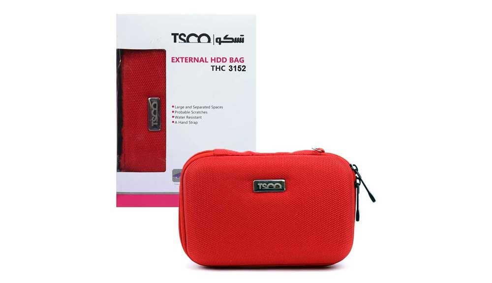 کیف هارد دیسک اکسترنال تسکو TSCO مدل THC 3154
