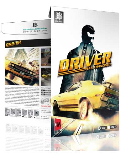بازی کامپیوتری Driver San Francisco نشر JB team