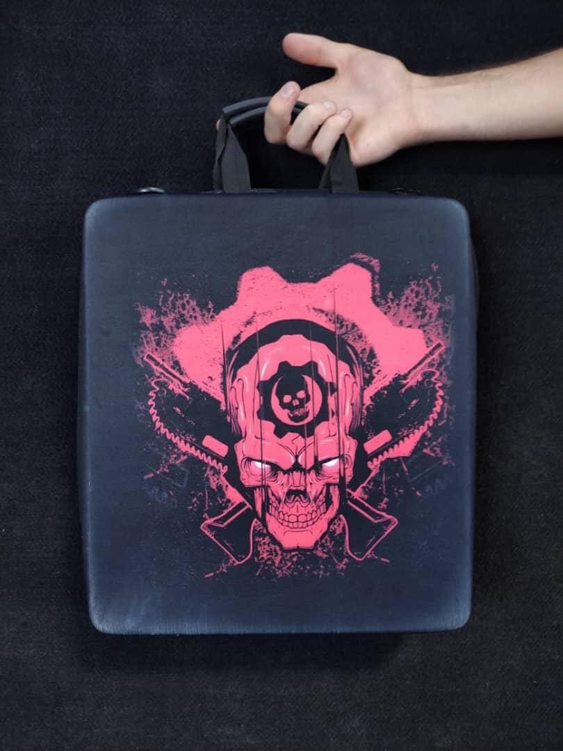 خرید کیف حمل کنسول PS4 مدل Punisher