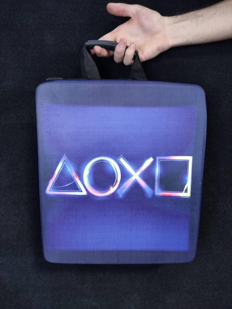 خرید کیف حمل کنسول PS4 مدل Logo