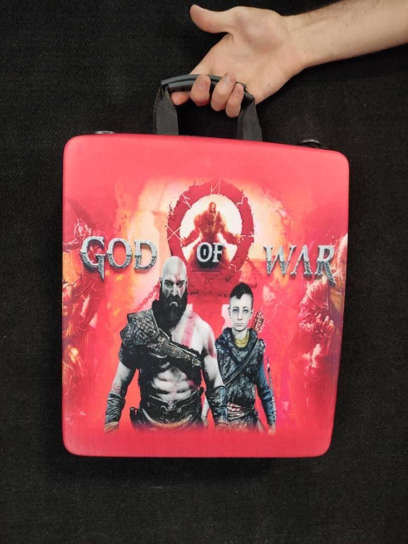 خرید کیف حمل کنسول PS4 مدل God OF War
