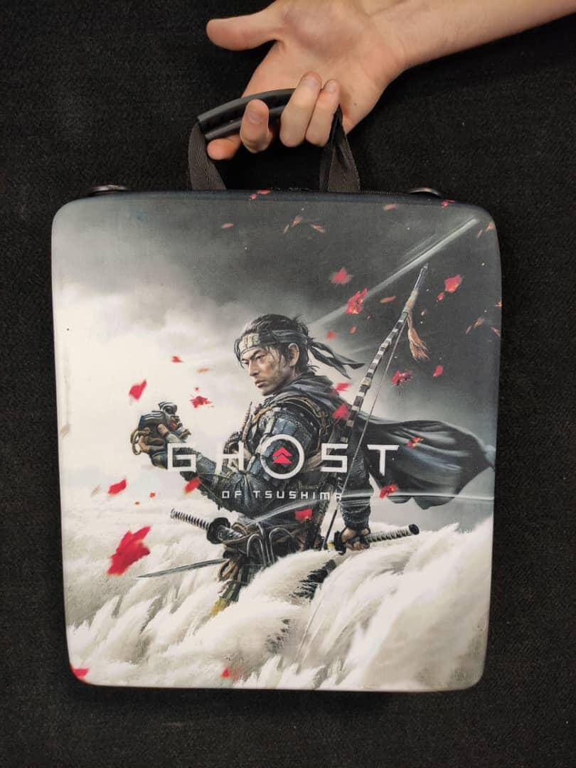 خرید کیف حمل کنسول PS4 مدل tsushima