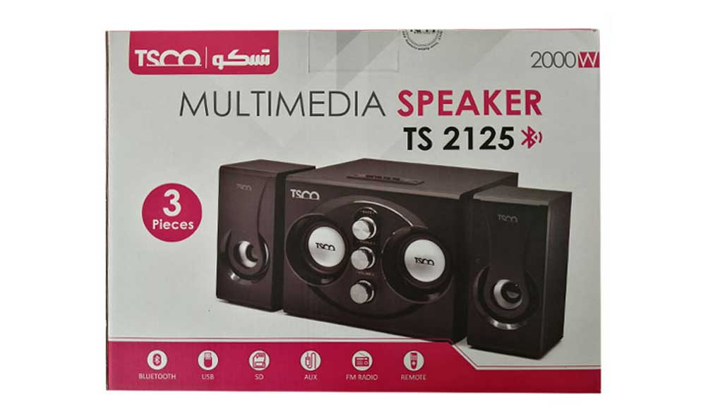 اسپیکر Speaker تسکو TSCO مدل TS 2125