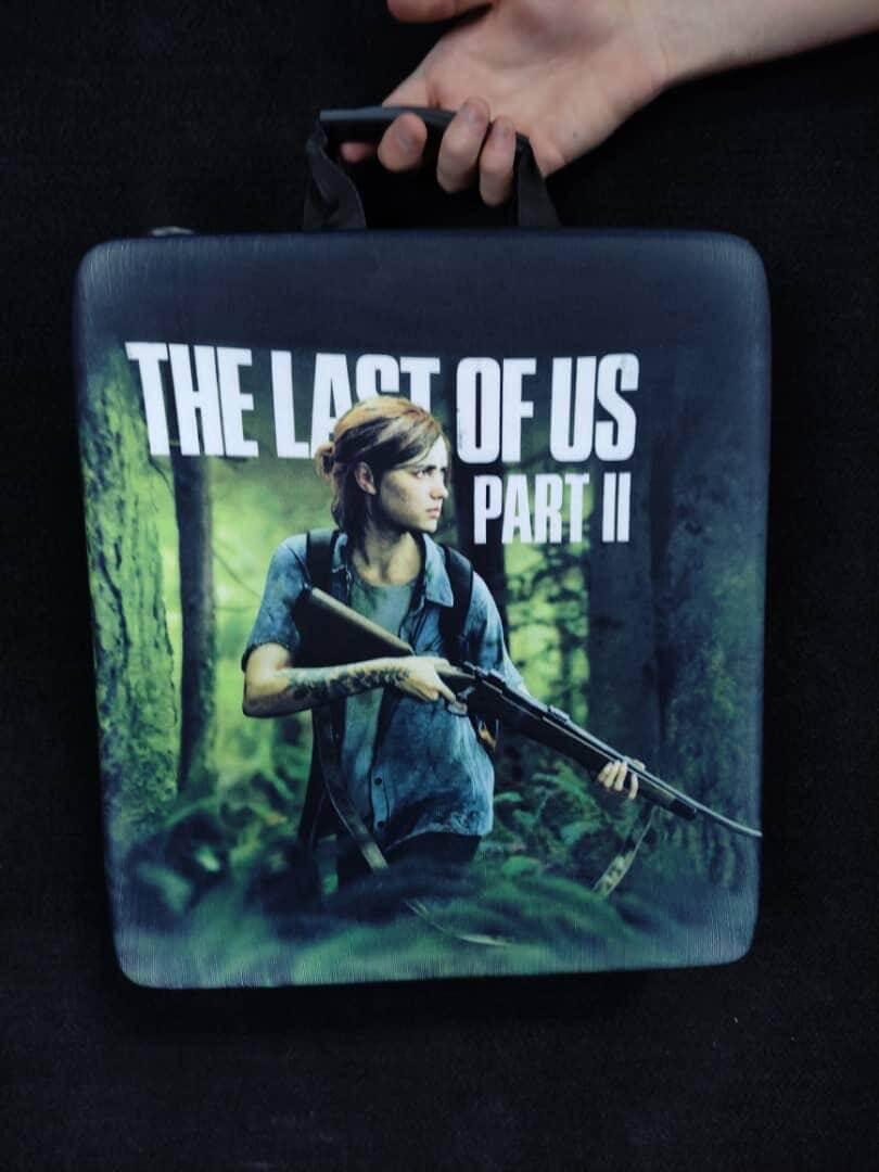 خرید کیف حمل کنسول PS4 مدل The Last OF US 2