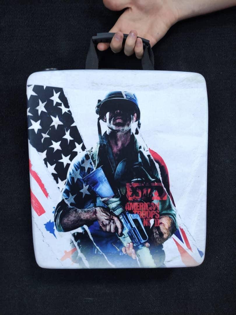 خرید کیف حمل کنسول PS4 مدل CALL OF DUTY COLD WAR