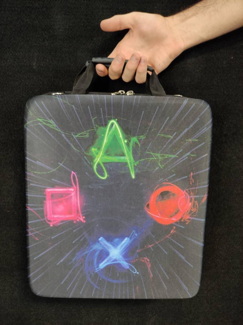 خرید کیف حمل کنسول PS4 مدل LOGO PS