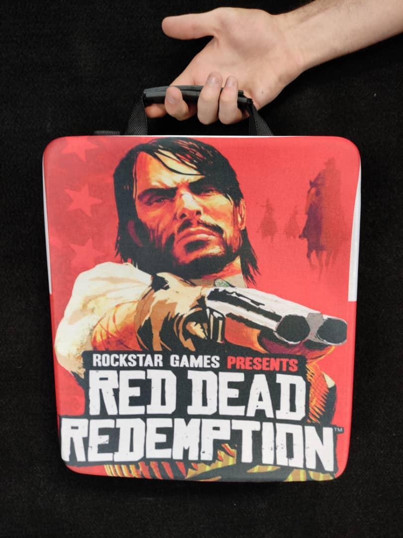 خرید کیف حمل کنسول PS4 مدل RED Dead Redemption