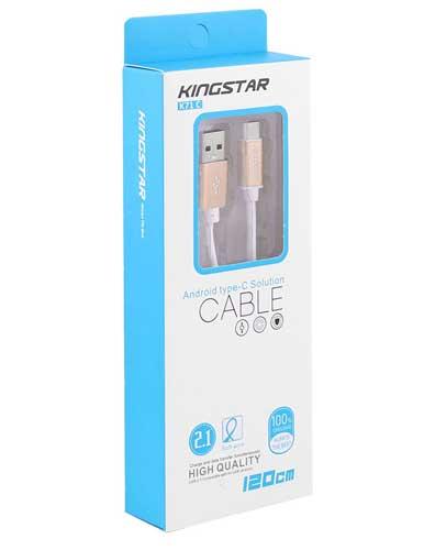 کابل USB کینگ استار مدل K71C طول 120 سانتیمتر