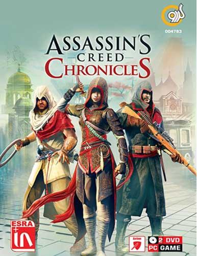 مجموعه 5 بازی کامپیوتری Assassins Creed