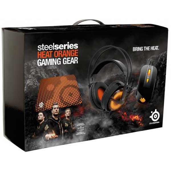 باندل گیمنگ Steelseries مدل Heat Orange Bundle