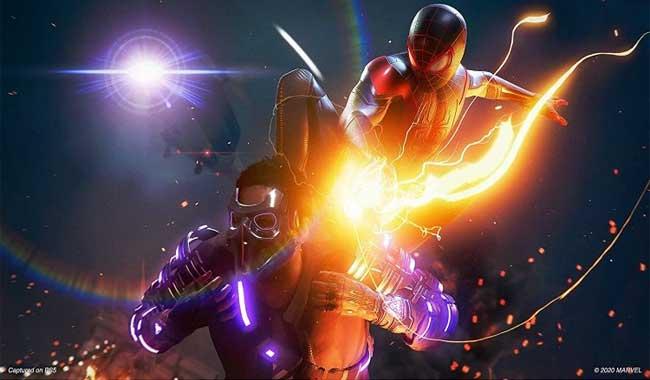 بازی مرد عنکبوتی Spider Man Miles Morales