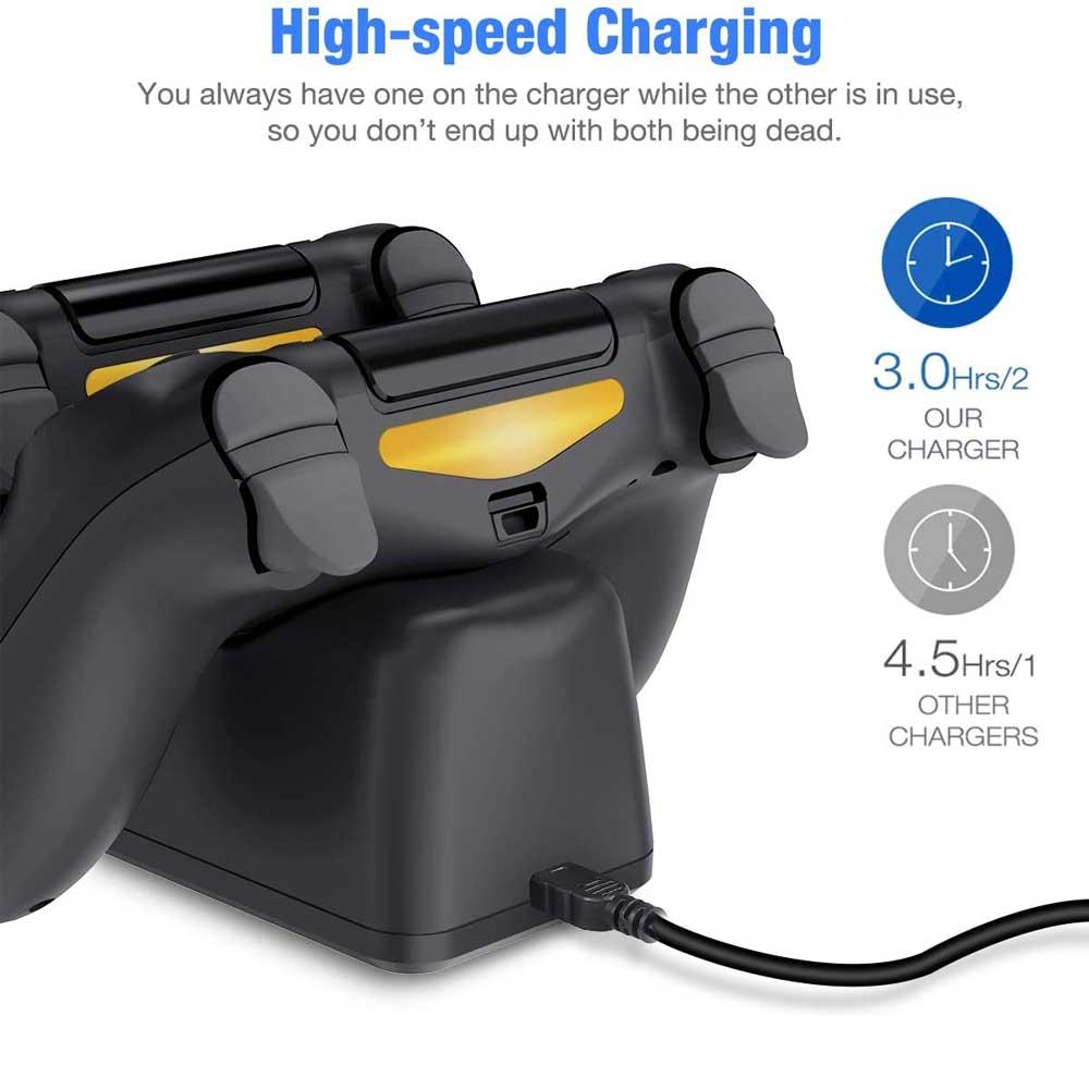 پایه شارژر کنترلر پلی استیشن PS4 برند OIVO