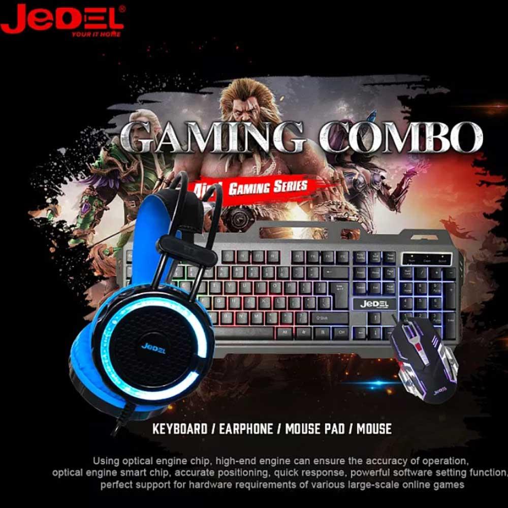 باندل 3 کاره گیمینگ مدل Jedel CP 02