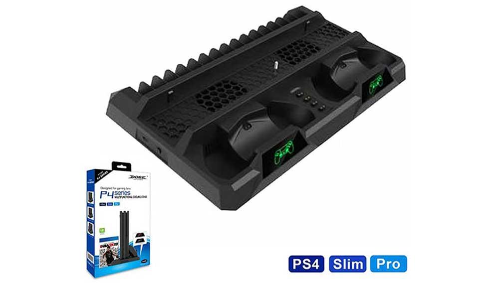 استند و پایه شارژر PS4 برند Dobe مدل TP4-18119