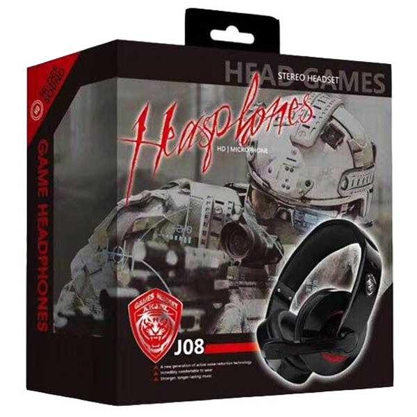 خرید هدست گیمینگ مدل headset J08