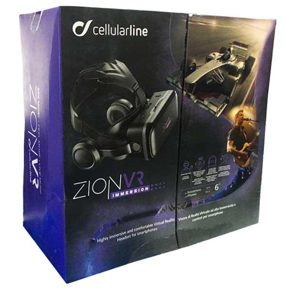 هدست واقعیت مجازی سلولار لاین VR Cellularline مدل Zion