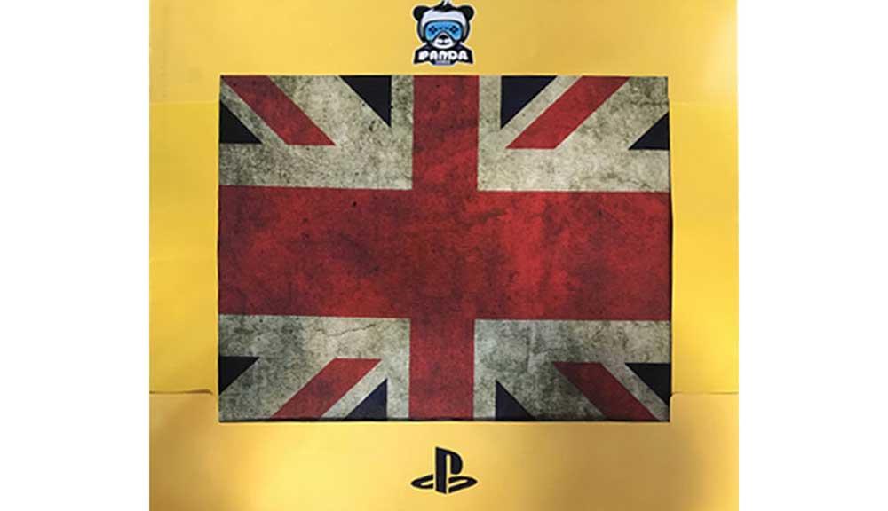 برچسب کنسول PS4 PRO مدل Flag 2