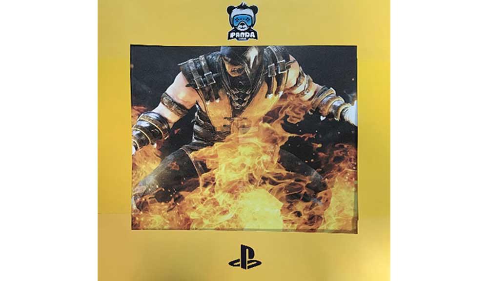 برچسب کنسول PS4 PRO مدل Mortal Kombat