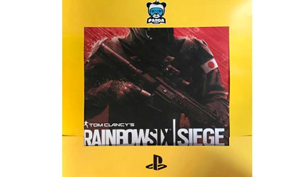 برچسب کنسول PS4 PRO مدل Rainbow 6
