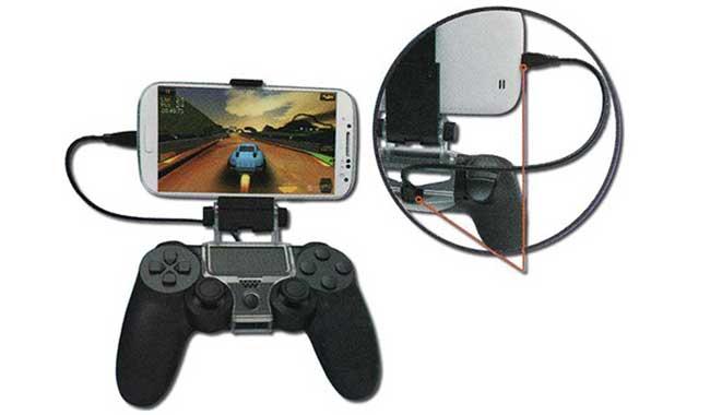 گیره نگهدارنده موبایل دسته بازی PS4 دابی مدل TP4 016